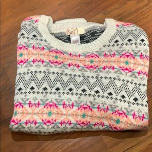 Plus size sweater size 1x women